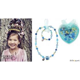 Coffret de perles pour fabriquer un collier et un bracelet
