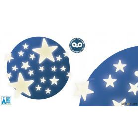 Décors adhésifs phosphorescents - Étoiles