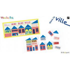 Dans la ville Mini jeu de construction (23 pièces)