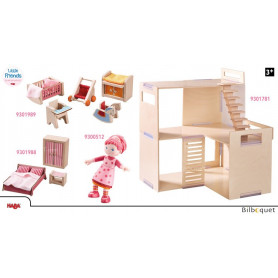 OFFRE Maison de poupée meublée Villa Matin printanier Little Friends