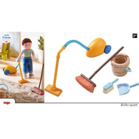 Nettoyage de printemps - Accessoires pour maison de poupée Little Friends