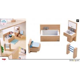 Mobilier de salle de bain - Accessoires pour maison de poupée Little Friends