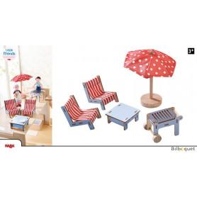 Mobilier pour la terrasse - Accessoires pour maison de poupée Little Friends