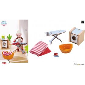 Journée de lessive - Accessoires pour maison de poupée Little Friends