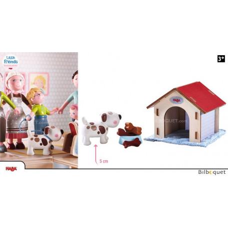 Chien Lucky - Figurine pour les maisons de poupées Little Friends