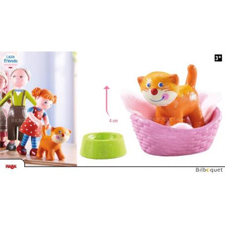 Chat Kiki - Figurine pour les maisons de poupées Little Friends