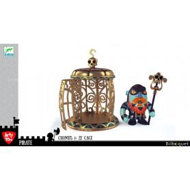 Gnomus & Ze cage - Arty Toys pirates