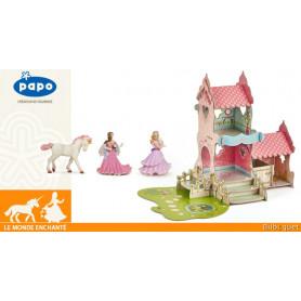 Coffret complet Papo Le château princesse