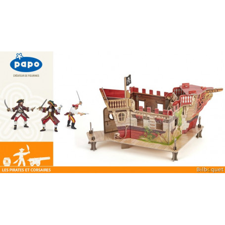 Coffret complet Papo Le fort pirate