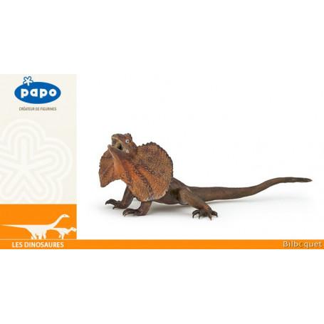 Lézard à collerette - Figurine animal sauvage