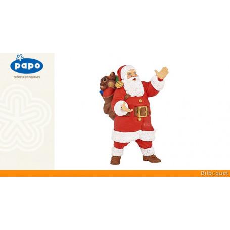 Père Noël - Figurine en plastique