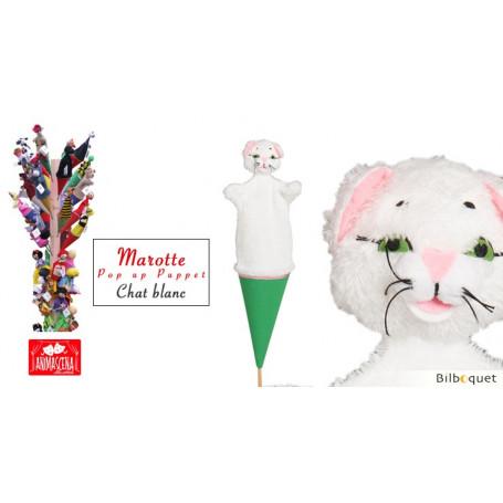 Marotte Chat Blanc