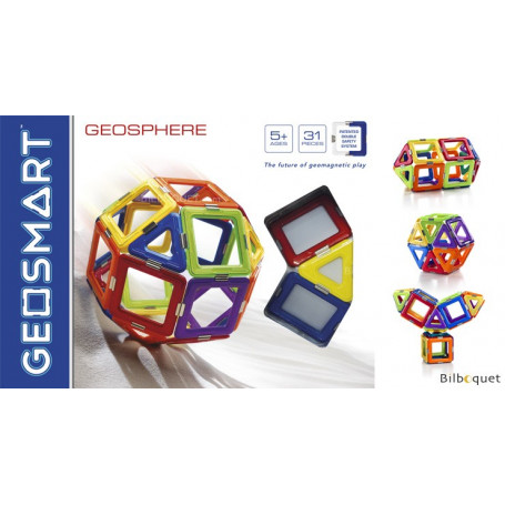 GeoSphere - Coffret GeoSmart 31 pièces