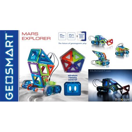 Mars Explorer télécommandé - Coffret GeoSmart 51 pièces