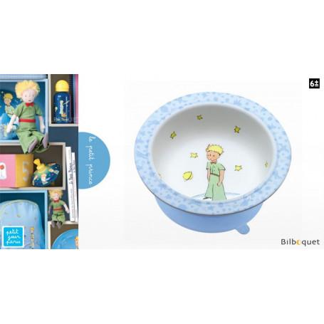 Bol avec ventouse Le Petit Prince - bleu