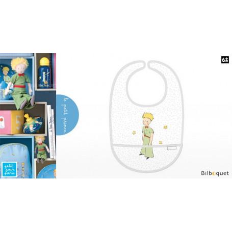 Bavoir en toile cirée Le Petit Prince - étoilé