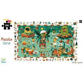 Crazy Lab - Puzzle d'observation 200 pièces