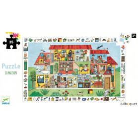 La maison - Puzzle d'observation 35 pièces