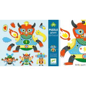 Barbazul - Puzzle géant avec 39 pièces interchangeables