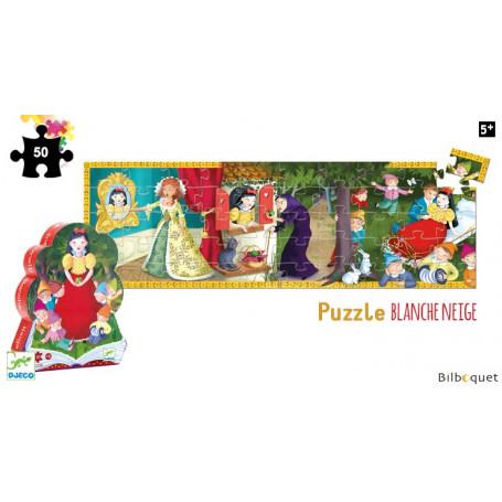 Blanche Neige Puzzle Silhouette 50 pièces