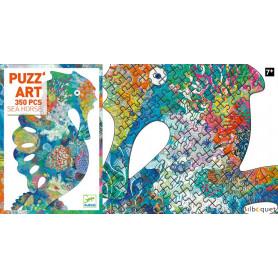 Puzz'Art Sea Horse Hippocampe - Puzzle 350 pièces