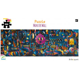 Monster Wall - Puzzle Gallery 500 pièces