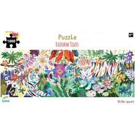Rainbow Tigers - Puzzle Gallery 1000 pièces