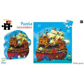 Le bateau de Barberousse Puzzle Silhouette 54 pièces