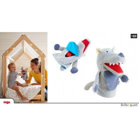 Marionnette à main Petit loup Mangetout