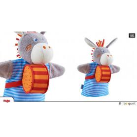 Marionnette à main sonore Ane
