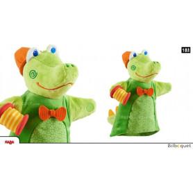 Marionnette à main sonore Crocodile
