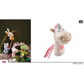 Marionnette à doigt Licorne