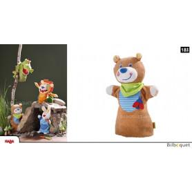 Marionnette à main Ourson