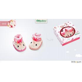 Chaussons de bébé Louise - Cadeau de naissance