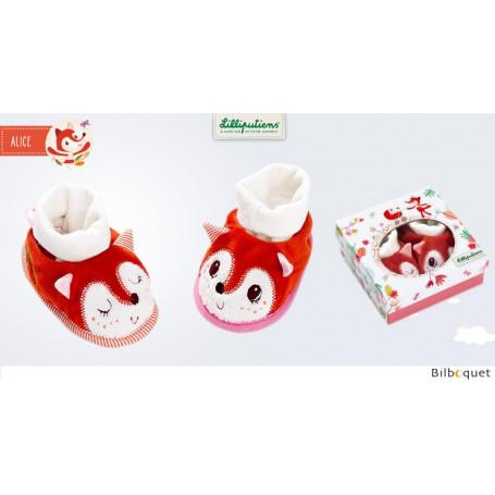 Chaussons de bébé Alice - Cadeau de naissance