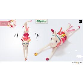 Hochet vibrant Louise mini-dansant