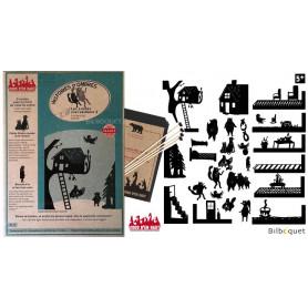 Les contes merveilleux n°2 - 31 silhouettes pour théâtre d'ombres