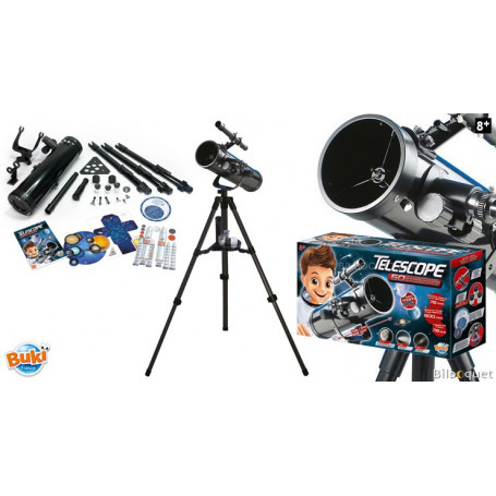 Coffret télescope et 50 activités - Découverte du ciel