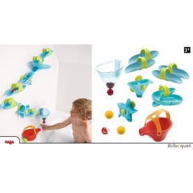 Toboggan à billes Les plaisirs du bain - Grand labyrinthe aquatique - Jouets Haba