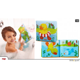 Livre de bain Canard baigneur - Jeu d'eau
