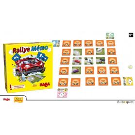 Jeu Mini Rallye Mémo