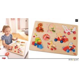 Puzzle-encastrement en bois Mes premiers jouets