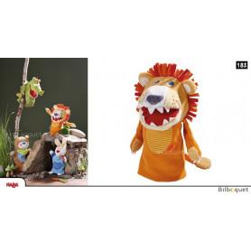 Marionnette à doigt Lion