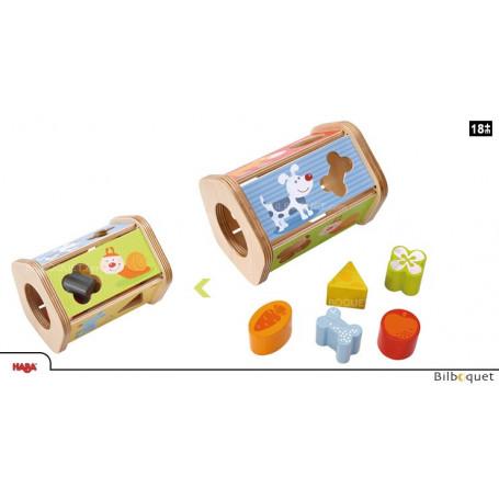 Boîte à formes Petit goûter - Jouet d'éveil en bois