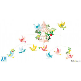 Mobile La cage aux oiseaux