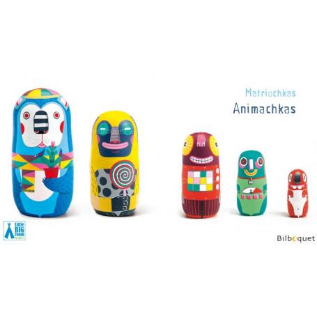 Matriochkas Animachkas - Poupées russes décoratives