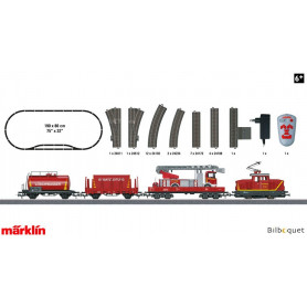 Coffret de départ Pompier Märklin Start Up 230V