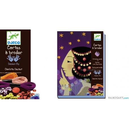 Cartes à broder 1001 nuits Design by Charlotte Gastaud