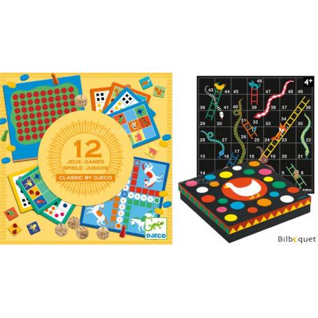 Classic box - Coffret 12 jeux traditionnels