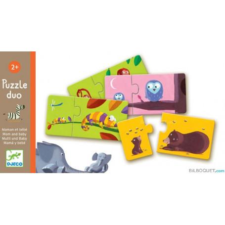 Puzzle duo maman et bébé